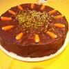 Möhrenkuchen mit Schokolade Rezept