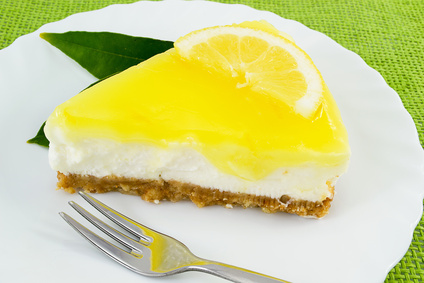 Lemon Cake With Lemon Glaze
