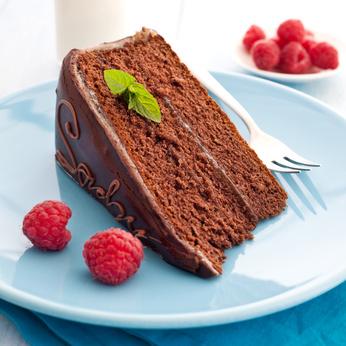 frische Sachertorte / fresh sacher cake